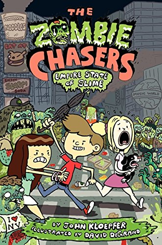 9780062230959: The Zombie Chasers #4: Empire State of Slime