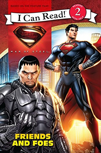 9780062235954: Man of Steel: Friends and Foes (I Can Read Books: Level 2)