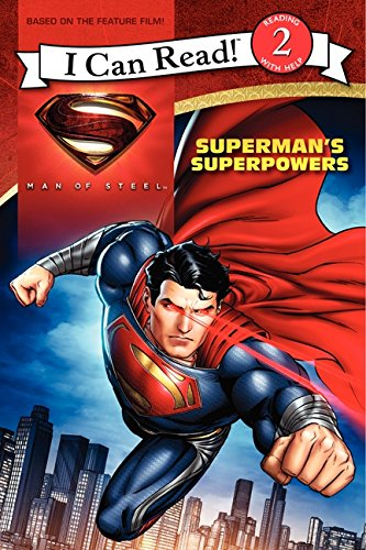 9780062235978: Man of Steel: Superman's Superpowers (I Can Read Books: Level 2)