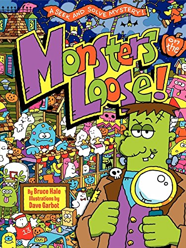 9780062237064: Monsters on the Loose!: A Seek and Solve Mystery!