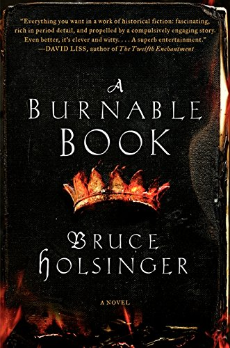 9780062240323: A Burnable Book: A Novel