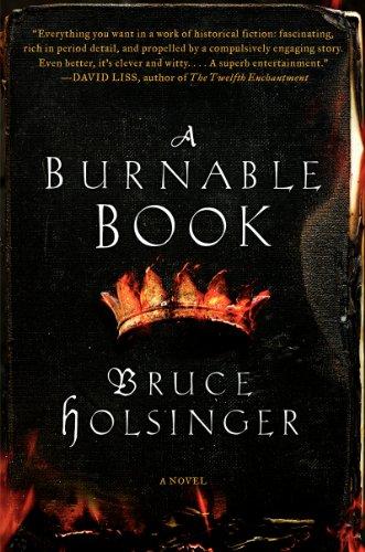 9780062240323: A Burnable Book: A Novel