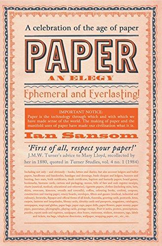 9780062241436: Paper: An Elegy