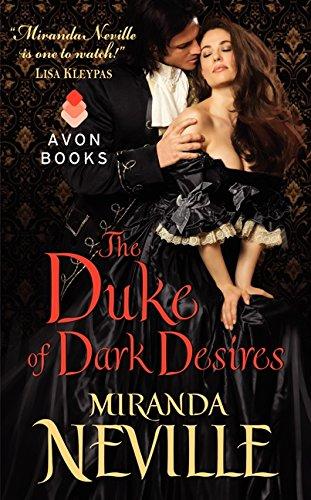 9780062243348: The Duke of Dark Desires (Wild Quartet)