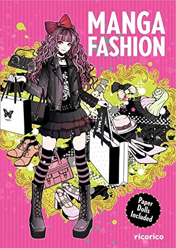 9780062247377: Manga Fashion with Paper Dolls