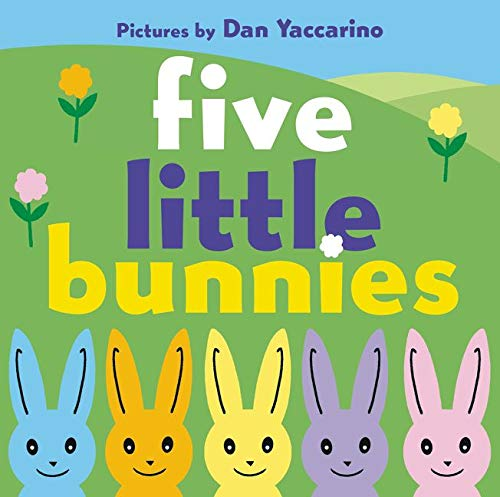 9780062253392: Five Little Bunnies