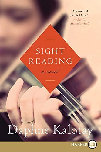 9780062253798: Sight Reading: A Novel