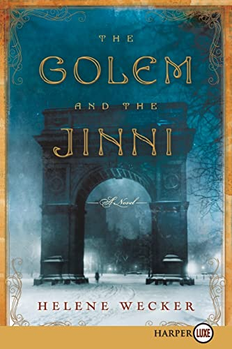 9780062253828: The Golem and the Jinni LP