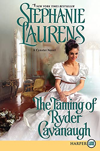 9780062254139: The Taming of Ryder Cavanaugh (Cynster Sisters)