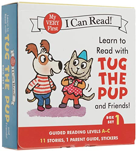 Learn To Read With Tug The Pup And Friends! Box Set 1: Levels Included: A C