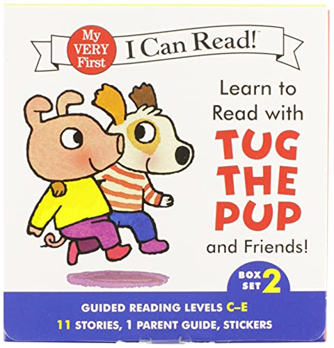 9780062266910: Learn to Read with Tug the Pup and Friends! Box Set 2: Guided Reading Levels C-E (My Very First I Can Read!)