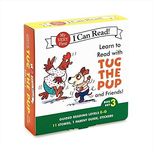 9780062266934: Learn to Read with Tug the Pup and Friends! Box Set 3: Guided Reading Levels E-G (My Very First I Can Read!)