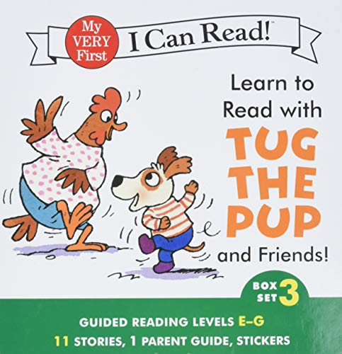 9780062266934: Learn to Read with Tug the Pup and Friends! Box Set 3: Levels Included: E-G (My Very First I Can Read!)