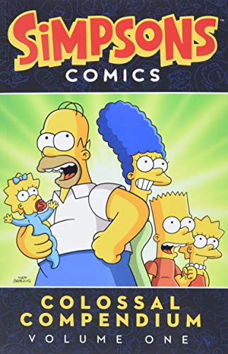 9780062267757: The Simpsons: Simpsons Comics Colossal Compendium : Volume 1