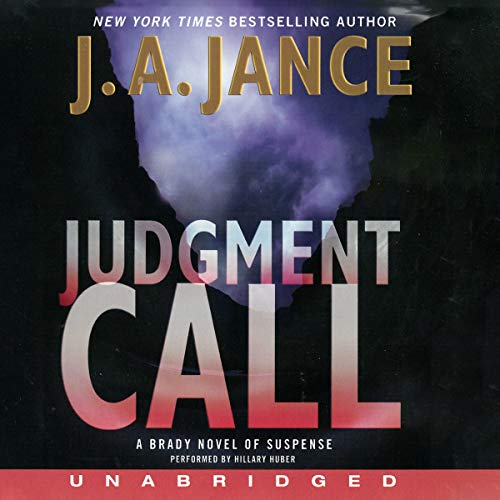 9780062270788: Judgment Call: A Brady Novel of Suspense