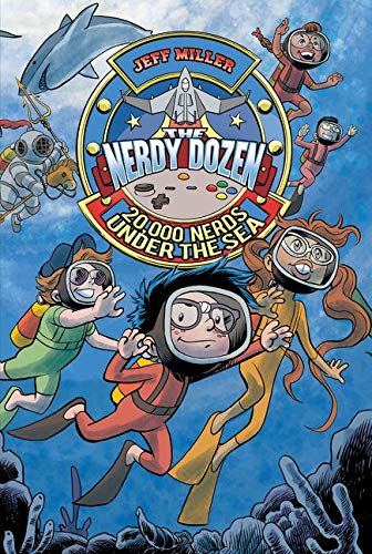 9780062272690: The Nerdy Dozen #3: 20,000 Nerds Under the Sea