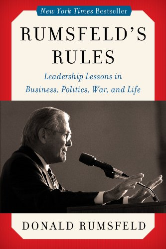 9780062272867: Rumsfeld's Rules: Leadership Lessons in Business, Politics, War, and Life