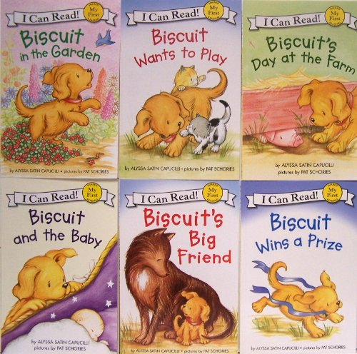9780062274885: I Can Read Biscuit - 6 Book Set (My First Shared Reading) (Biscuit in the Garden, Biscuit Wants to Play, Biscuit's Day on the Farm, Biscuit's Big Friend, Biscuit Wins a Prize, Biscuit and the Baby)