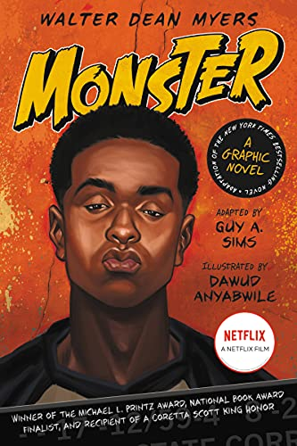 Monster: A Graphic Novel: Sims, Guy A.; Myers, Walter Dean