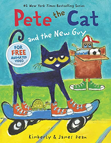 9780062275608: Pete the Cat and the New Guy