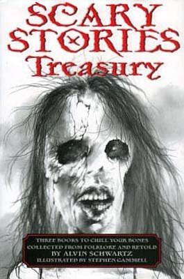 9780062283009: Scary Stories Treasury: Three Books to Chill Your Bones [Paperback compilation]