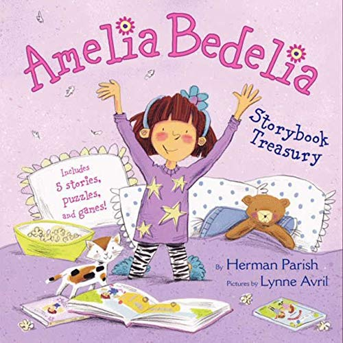 9780062287144: Amelia Bedelia Storybook Treasury: Amelia Bedelia's First Day of School; Amelia Bedelia's First Field Trip; Amelia Bedelia Makes a Friend; Amelia Bedelia Sleeps Over; Amelia Bedelia Hits the Trail