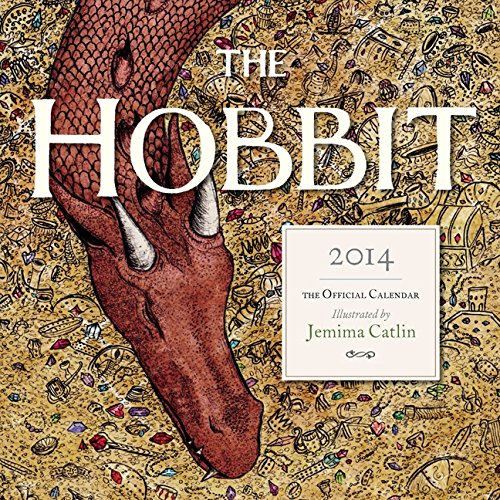 9780062287359: Tolkien Calendar 2014, The hobbit