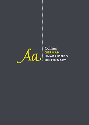 9780062288820: Collins German Unabridged Dictionary, 8th Edition
