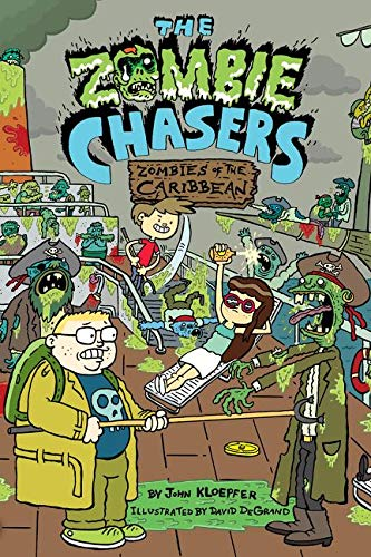 9780062290250: The Zombie Chasers #6: Zombies of the Caribbean