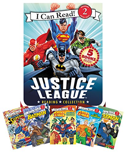 9780062291875: Justice League Reading Collection: 5 I Can Read Books Inside! (I Can Read Level 2)