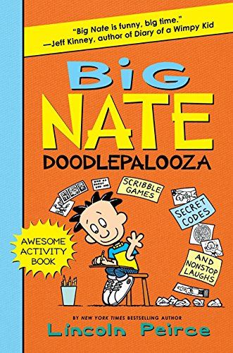 9780062292025: Big Nate Doodlepalooza (Big Nate Activity Book)