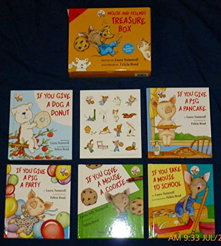 9780062293343: mouse and friends treasure box (5 books in box set)
