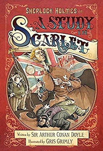 9780062293756: Sherlock Holmes - A Study in Scarlet: Doyle A.C. - Grimly G.