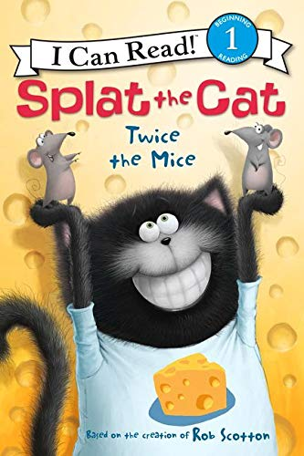 9780062294227: Splat the Cat: Twice the Mice (I Can Read Level 1)