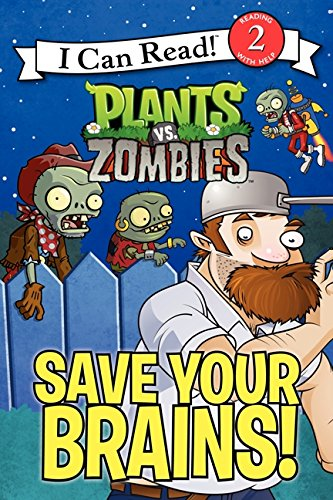 9780062294968: Plants vs. Zombies: Save Your Brains! (I Can Read Level 2)