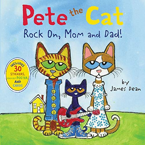 9780062304087: Pete the Cat: Rock On, Mom and Dad!