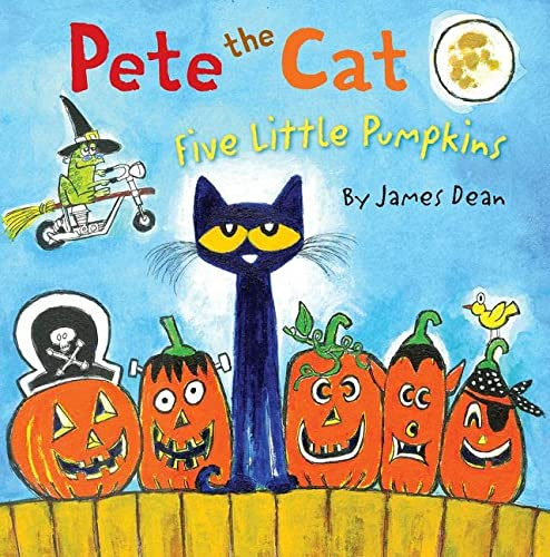 9780062304186: Pete the Cat: Five Little Pumpkins