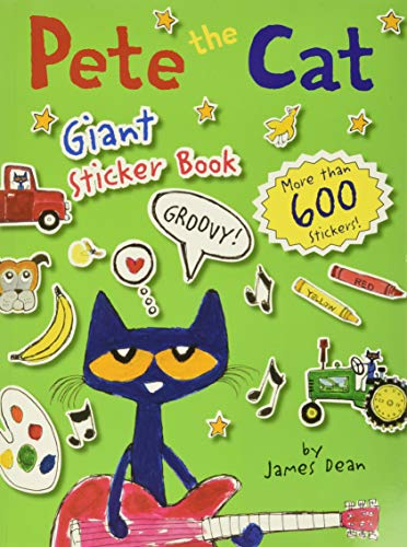 9780062304230: Pete the Cat Giant Sticker Book