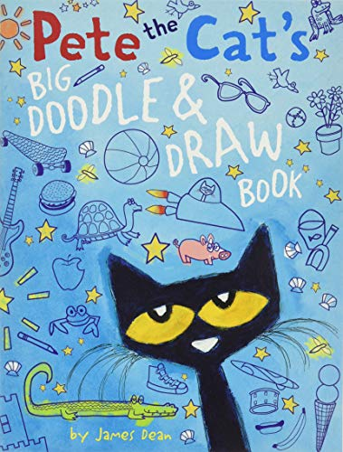 9780062304421: Pete the Cat's Big Doodle & Draw Book (Pete the Cat (Paperback))