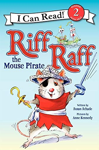 9780062305077: Riff Raff the Mouse Pirate (I Can Read Level 2)