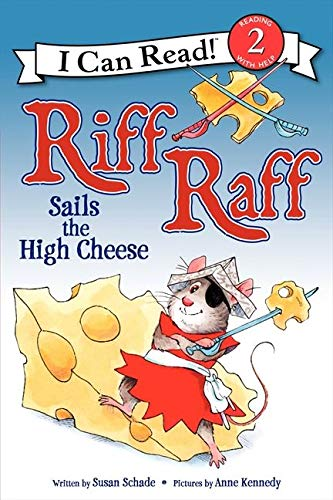 9780062305107: Riff Raff Sails the High Cheese (I Can Read!: Level 2)