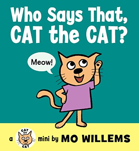 9780062306548: Who Says That, Cat the Cat?