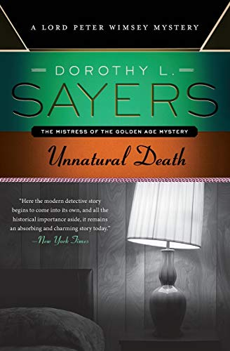 9780062311924: Unnatural Death: A Lord Peter Wimsey Mystery