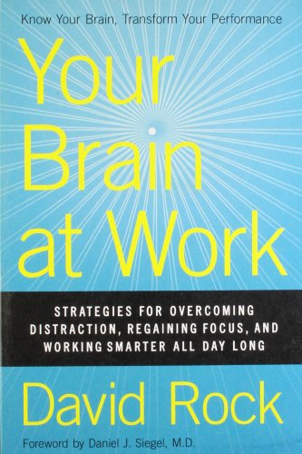 9780062312822: Your Brain at Work