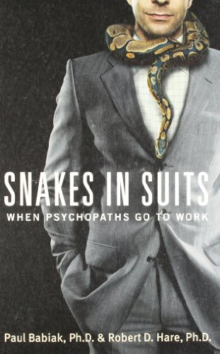 9780062313058: SNAKES IN SUITS