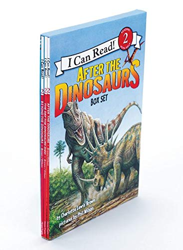 9780062313300: After the Dinosaurs Box Set: After the Dinosaurs, Beyond the Dinosaurs, The Day the Dinosaurs Died (I Can Read Level 2)