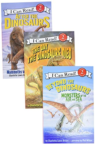 9780062313300: After the Dinosaurs Box Set: After the Dinosaurs, Beyond the Dinosaurs, The Day the Dinosaurs Died (I Can Read Book 2)