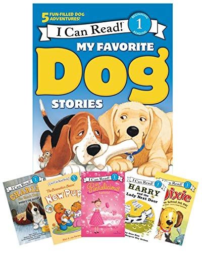9780062313317: My Favorite Dog Stories: Learning to Read Box Set (I Can Read Level 1)