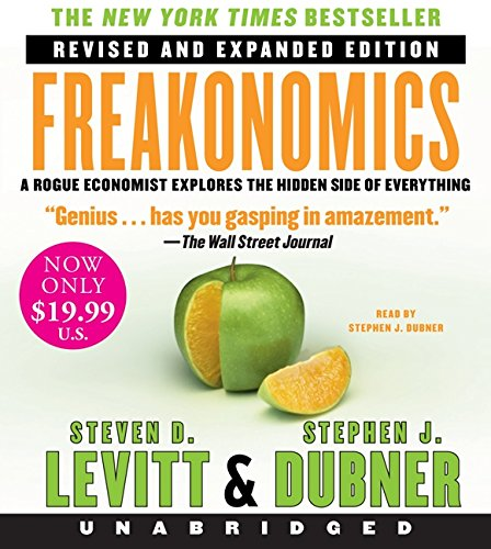 9780062314246: Freakonomics Rev Ed Low Price CD: A Rogue Economist Explores the Hidden Side of Everything