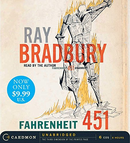 Fahrenheit 451 Unabridged Low Price CD: Bradbury, Ray